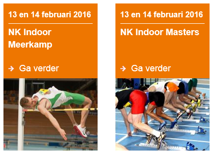 Definitief Chrono NK Masters Indoor 2016