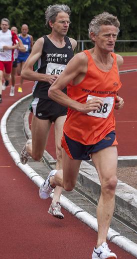 Marcel Scholten in actie tijdens nK Masters 2013. Bron: AV Altis