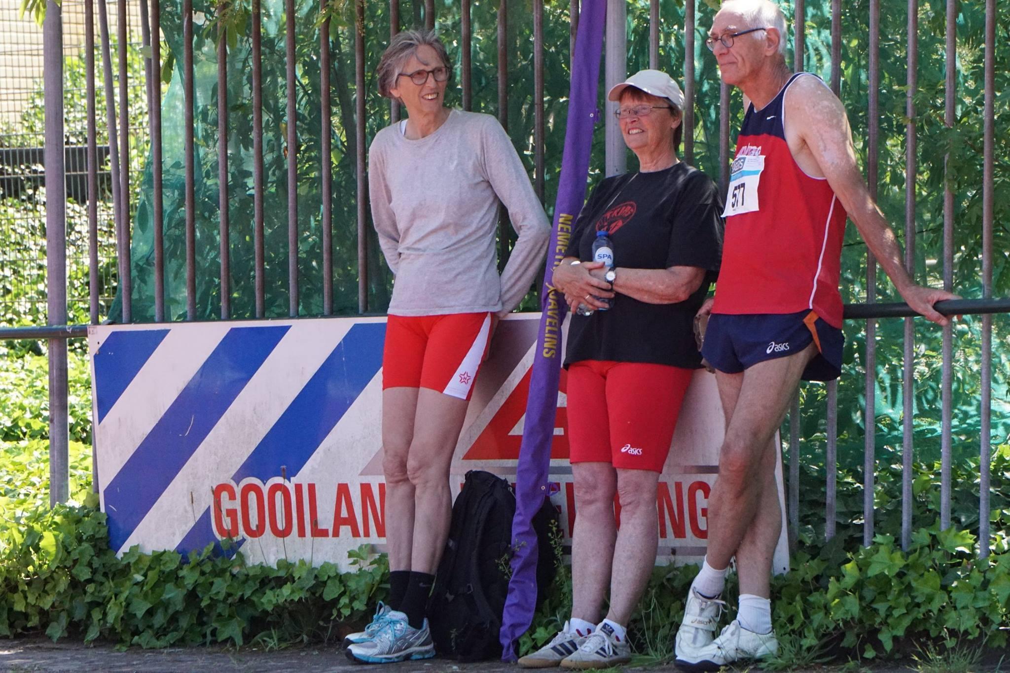 Weia vorige week tijdens de 2e masterscompetitiewedstrijd in Hilversum.