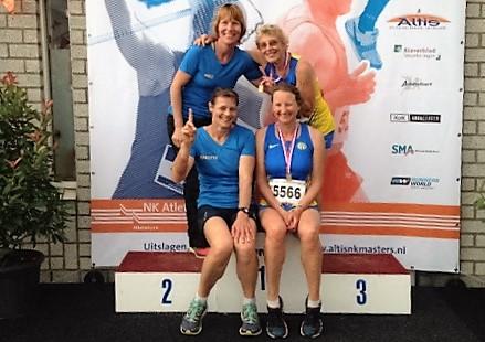 NK Masters Dag 1: WERELDRECORD op speer voor Weia Reinboud, NEDERLANDS RECORD voor estafettedames GAC en Shan Happé op 1500m