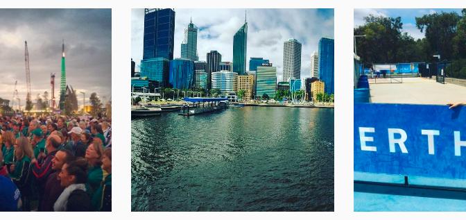 Perth 2016 Dag 1 – GOUD! Brigitte van der Kamp